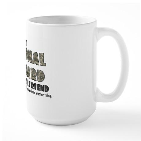National Guard Girlfriend - Large Mug