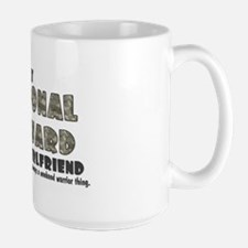 National Guard Girlfriend - Large Mug