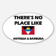There Is No Place Like Antigua & Barbuda Decal