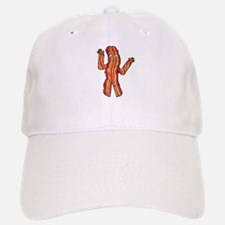 Happy Bacon Baseball Baseball Cap