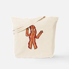 Happy Bacon Tote Bag