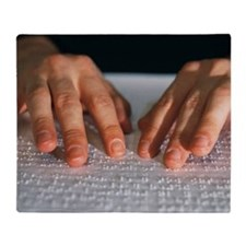 Braille - Throw Blanket