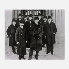E. Rutherford in a group portrait at McGill Unive