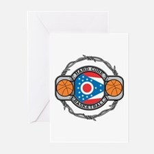 Ohio Basketball Greeting Cards (Pk of 10)