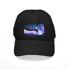 Contemplative Polar Bear Baseball Hat