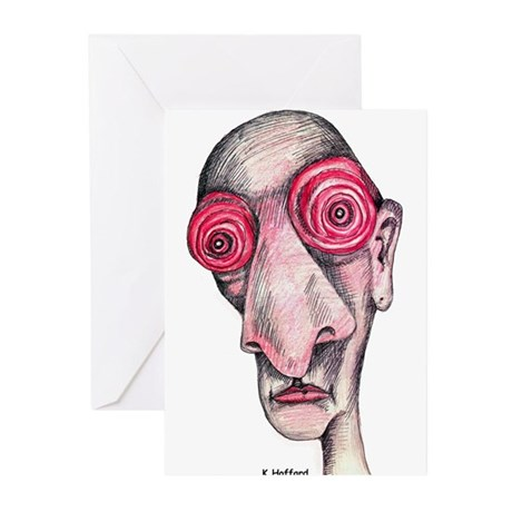 Insomnia Greeting Cards (Pk of 10)