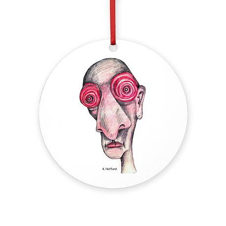 Insomnia Ornament (Round)