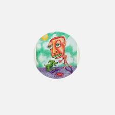 Moon doggy Mini Button