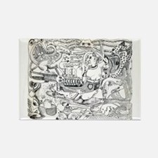 The Zoo Rectangle Magnet (10 pack)
