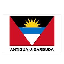 Antigua & Barbuda Flag Merchandise Postcards (Pack