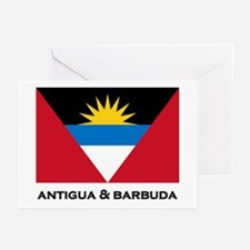 Antigua & Barbuda Flag Merchandise Greeting Cards