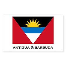 Antigua & Barbuda Flag Merchandise Decal