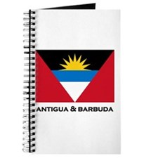 Antigua & Barbuda Flag Merchandise Journal