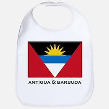 Antigua & Barbuda Flag Merchandise Bib