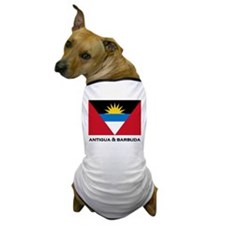 Antigua & Barbuda Flag Merchandise Dog T-Shirt