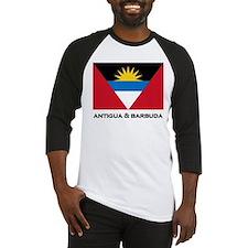 Antigua & Barbuda Flag Merchandise Baseball Jersey