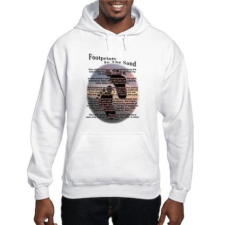 Footprints In The Sand Hooded Sweatshirt