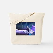 Contemplative Polar Bear Tote Bag