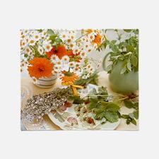 Medicinal plants - Throw Blanket
