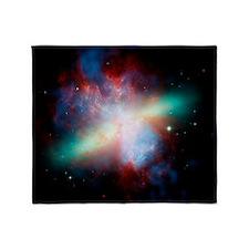 Cigar galaxy (M82), composite image - Stadium Bla