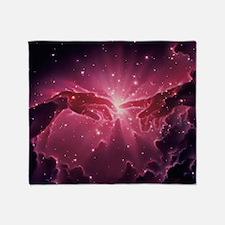 Conceptual artwork of a star birth in a nebula -