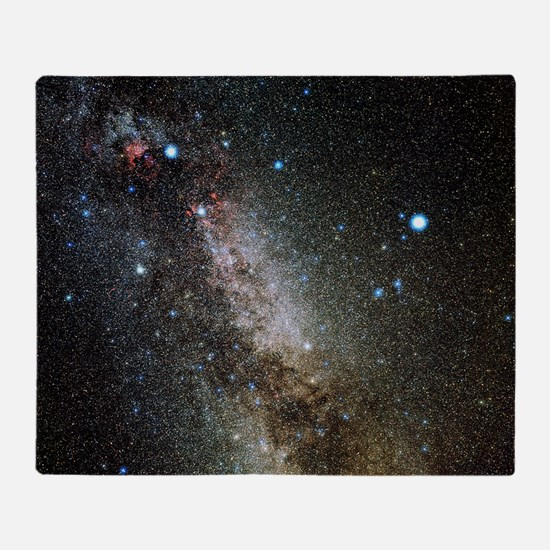 Cygnus and Lyra constellations - Throw Blanket