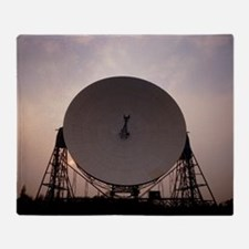 Jodrell Bank radio telescope - Throw Blanket