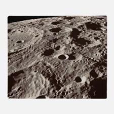 Lunar surface - Throw Blanket