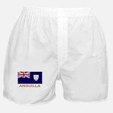 Anguilla Flag Stuff Boxer Shorts