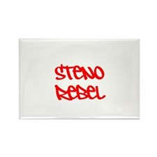 Steno Rebel Rectangle Magnet