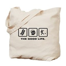 Kickball Tote Bag