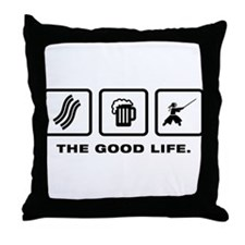 Kendo Throw Pillow