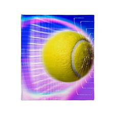 Tennis ball - Throw Blanket