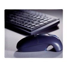 Cordless mouse and keyboard - Throw Blanket