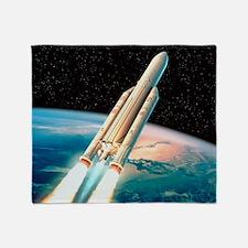 Ariane 5 rocket - Throw Blanket
