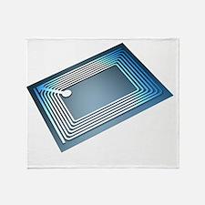 Intelligent label chip - Throw Blanket