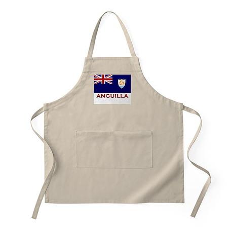Anguilla Flag Merchandise BBQ Apron