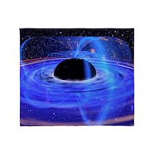 Energy-releasing black hole - Throw Blanket