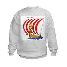 Viking boat Sweatshirt
