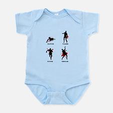 Zombie type Infant Bodysuit