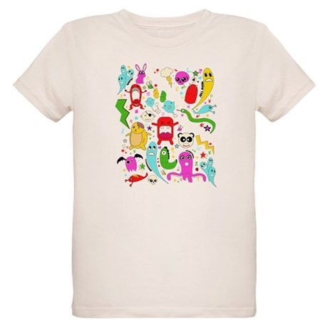 Are you afriad of the dark? Organic Kids T-Shirt