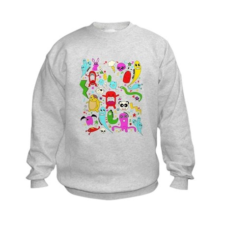 Are you afriad of the dark? Kids Sweatshirt