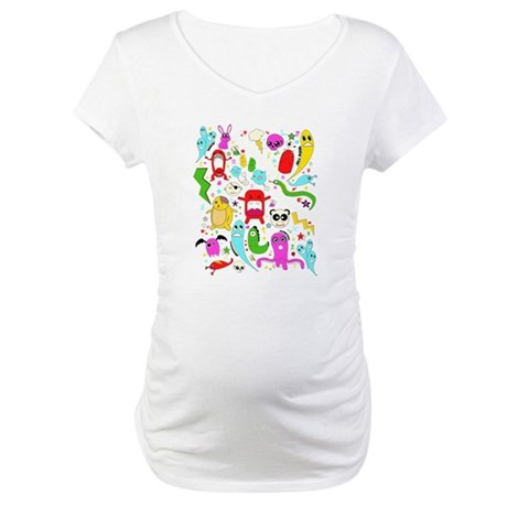 Are you afriad of the dark? Maternity T-Shirt