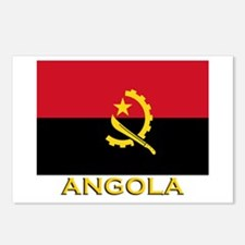 Angola Flag Gear Postcards (Package of 8)