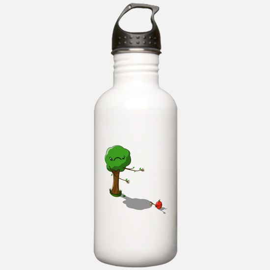 The apple doesnt fall far from the tree Water Bottle