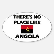 There Is No Place Like Angola Oval Decal