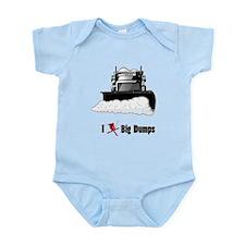 I ? big dumps Infant Bodysuit