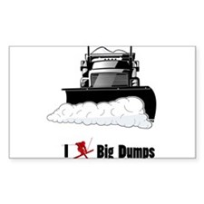 I ? big dumps Decal