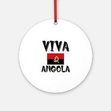 Viva Angola Ornament (Round)