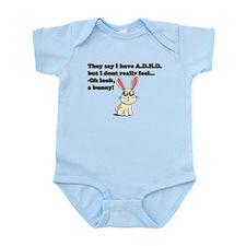ADHD bunny Infant Bodysuit